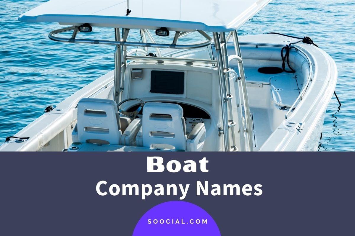 Boat Company Names