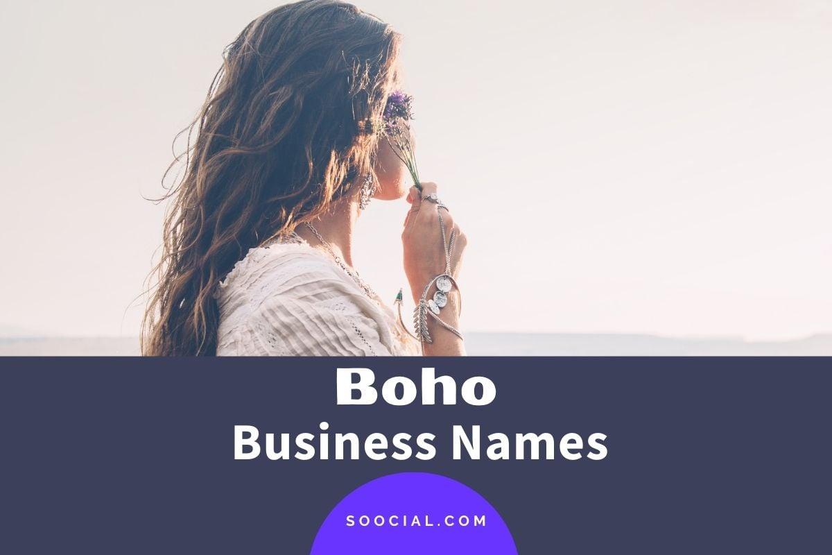 Boho Business Names