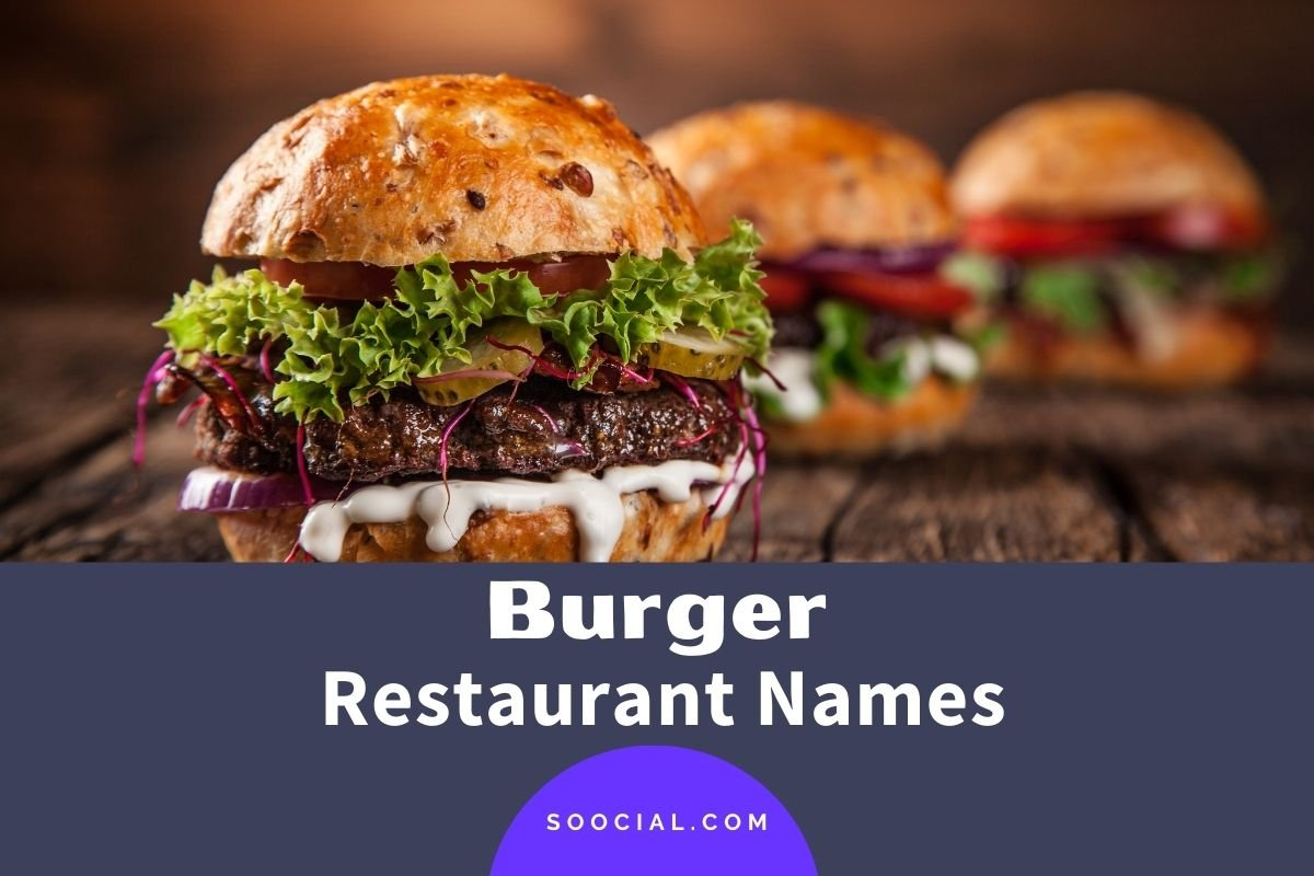 Burger Restaurant Names