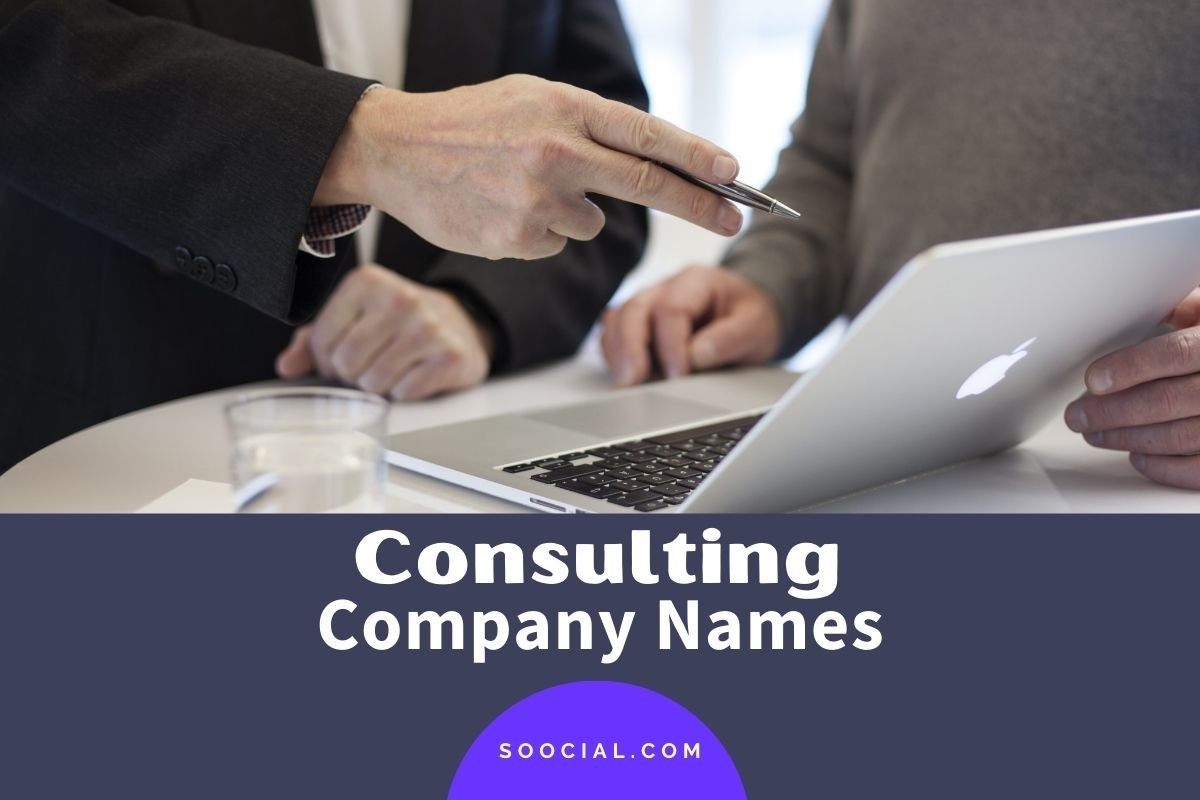 Consulting Company Names