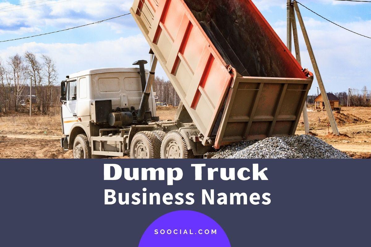 Dump Truck Business Names