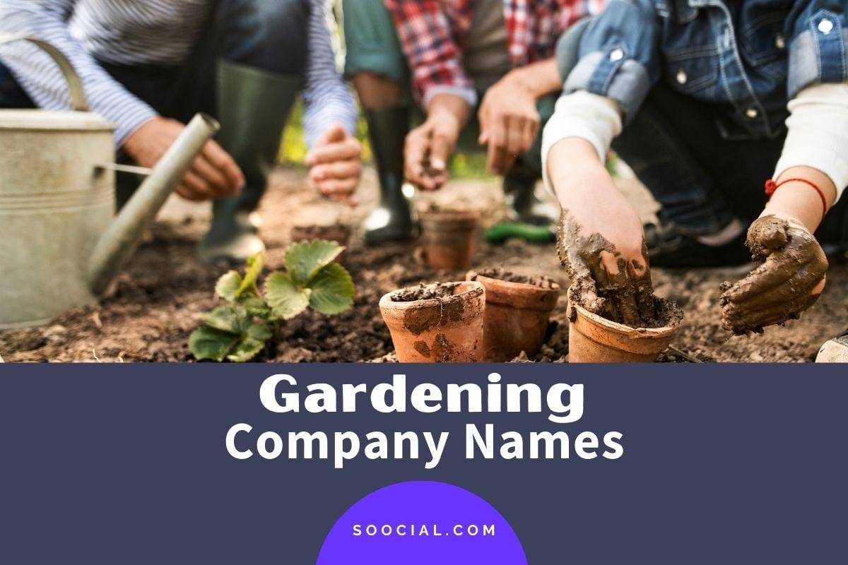 Gardening Business Names