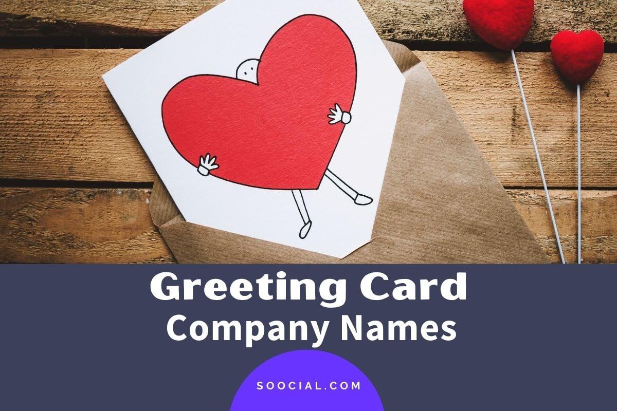 Greeting Card Company Names