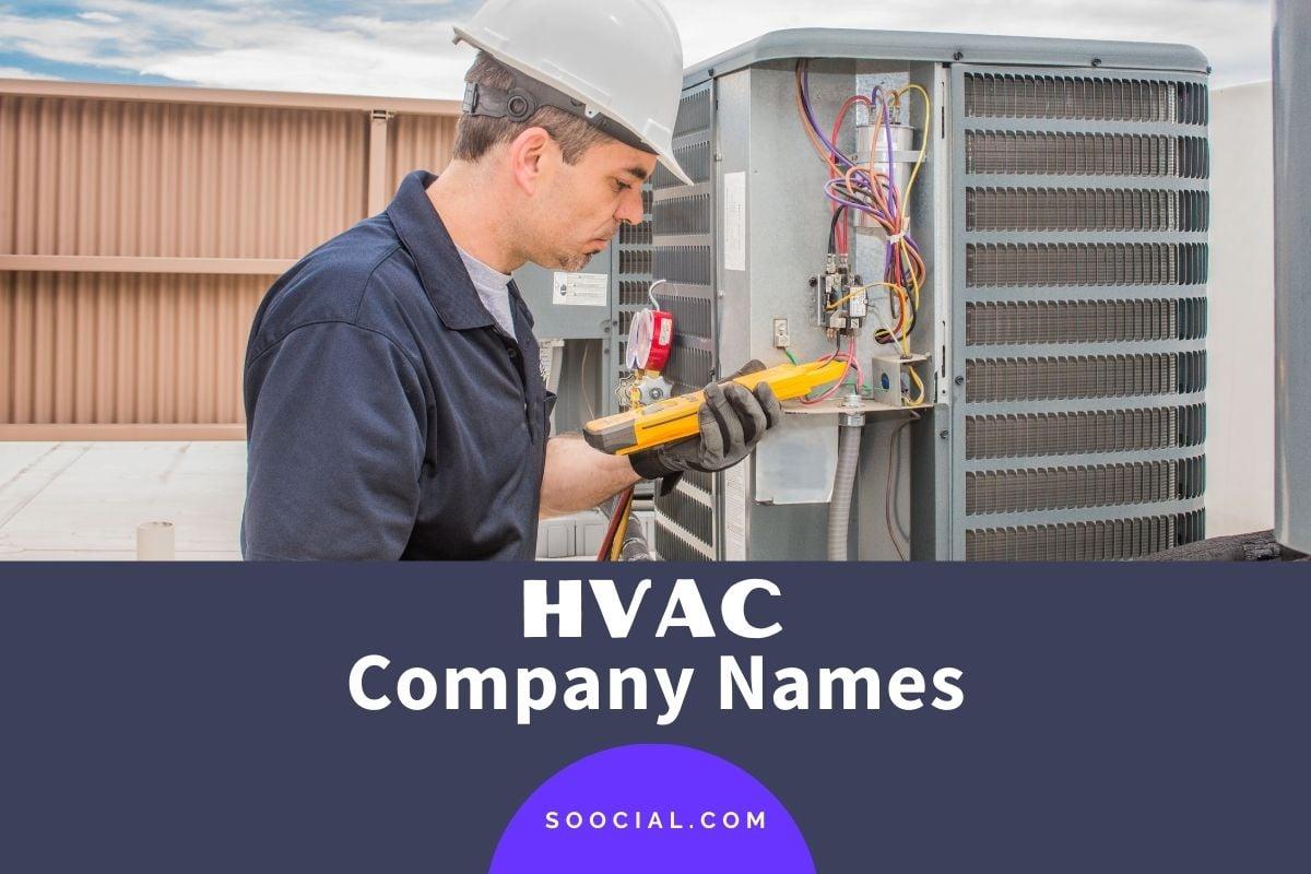 HVAC Business Names