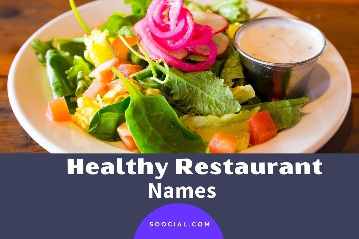 Healthy Restaurant Names