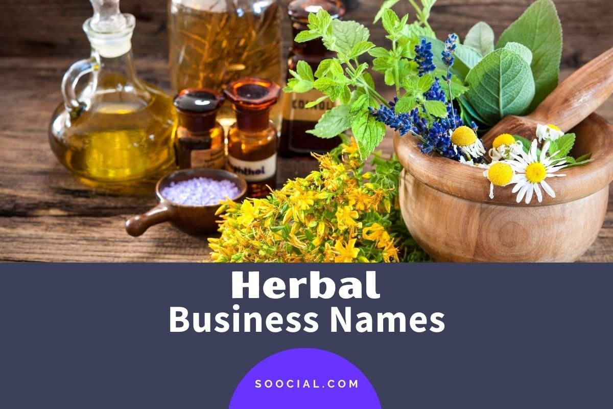Herbal Business Names