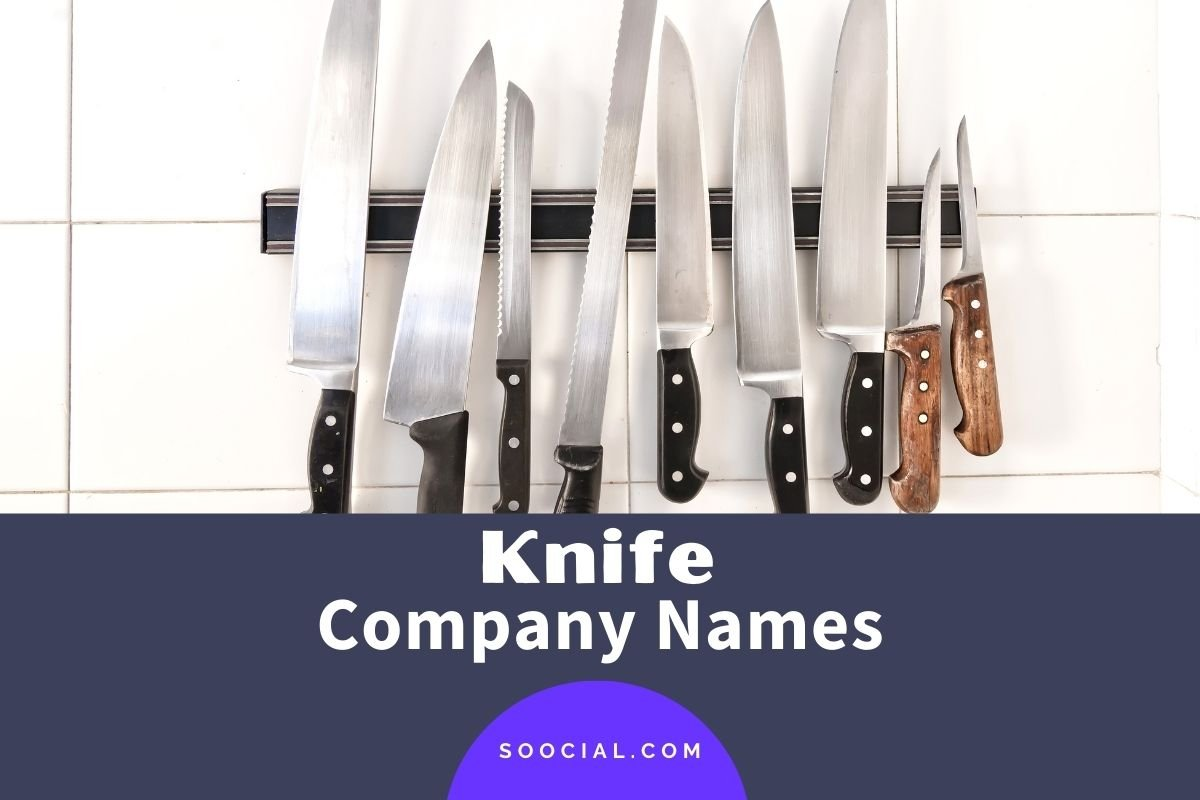 Knife Company Names
