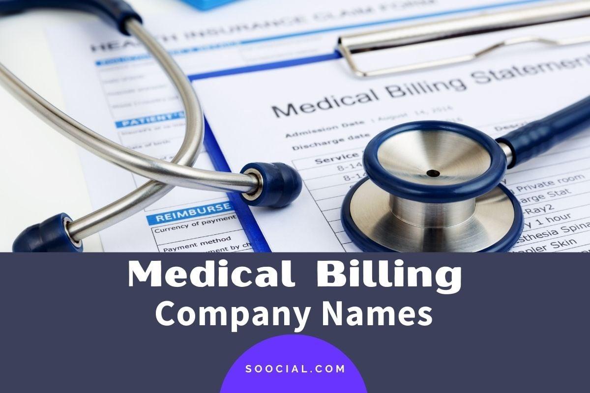 Medical Billing Company Names