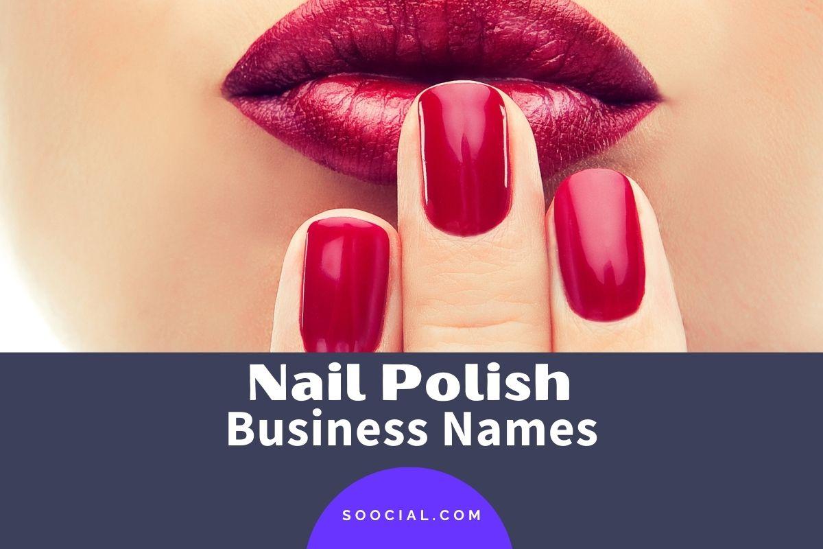 Nail Polish Business Names