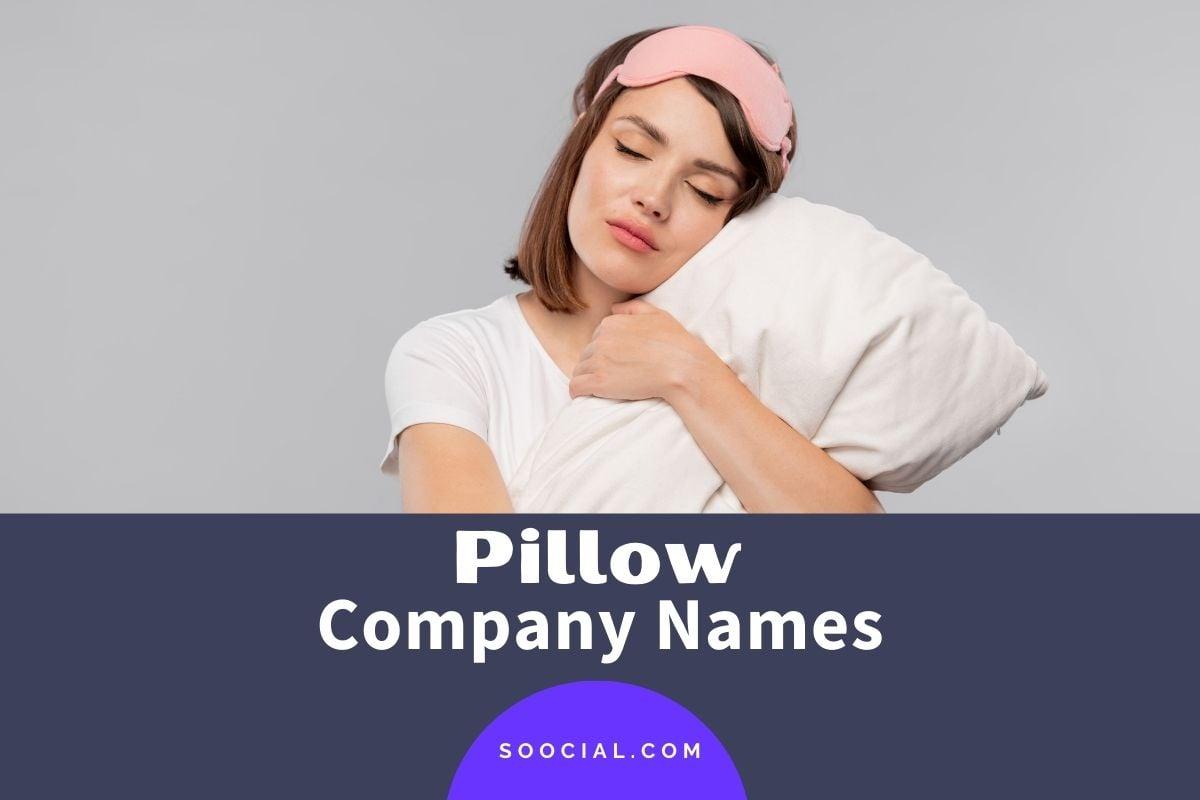 Pillow Company Names