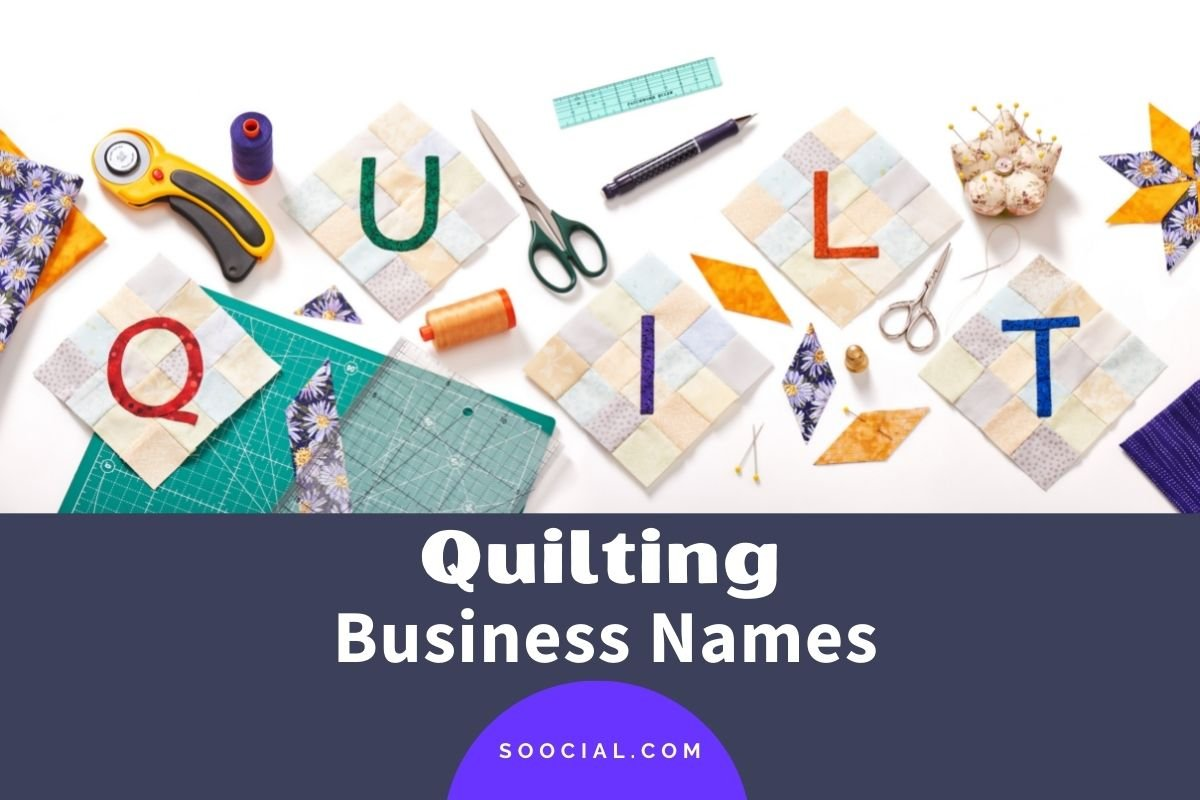 Quilting Business Names
