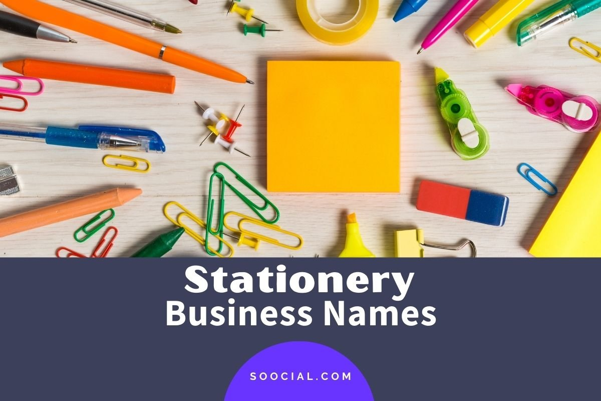 Stationery Business Names