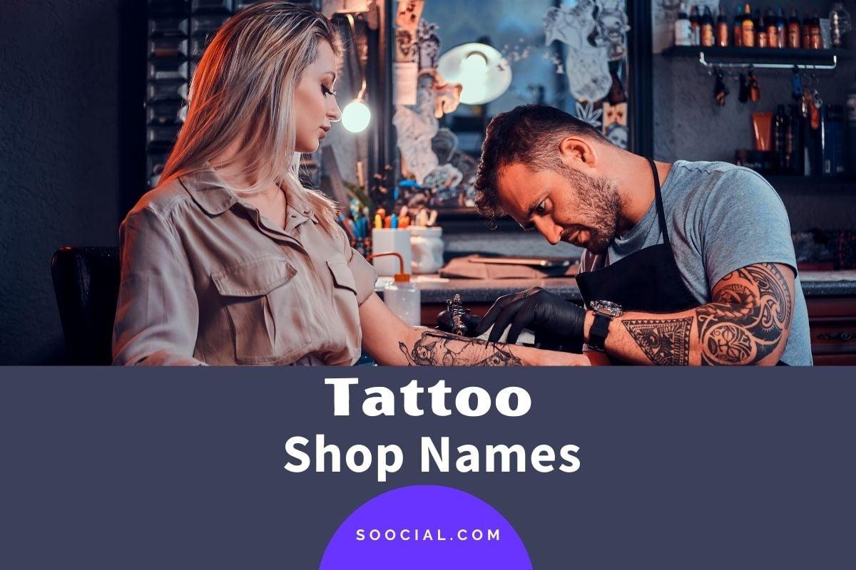 Tattoo Shop Names