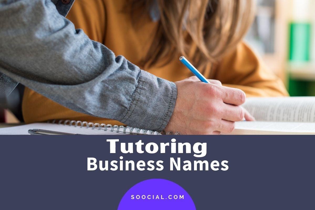 Tutoring Business Names