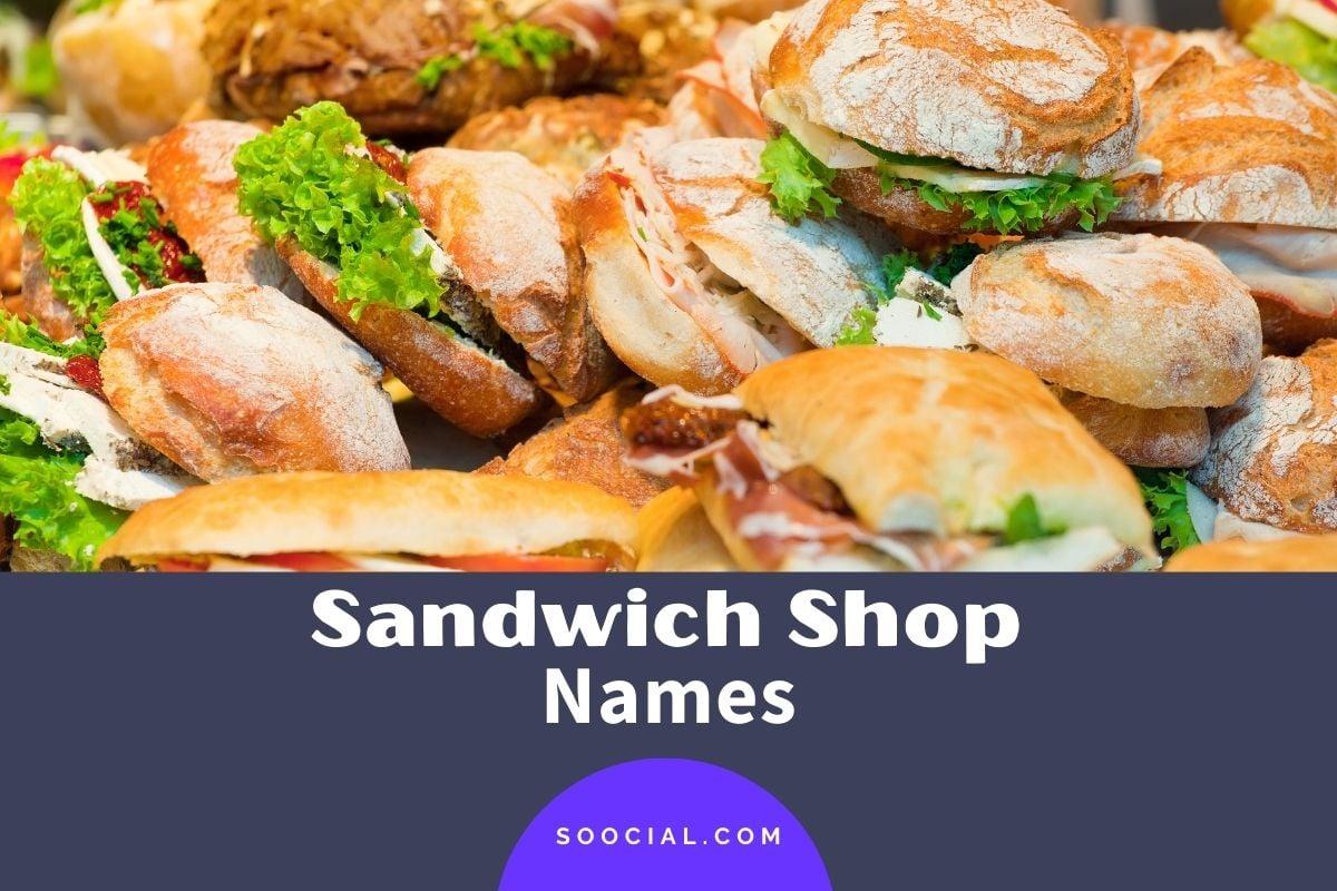 sandwich shop names