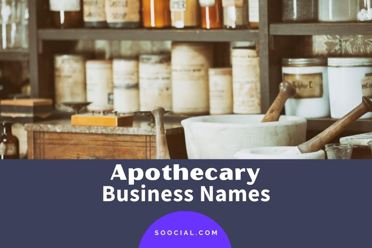 Apothecary Business Names
