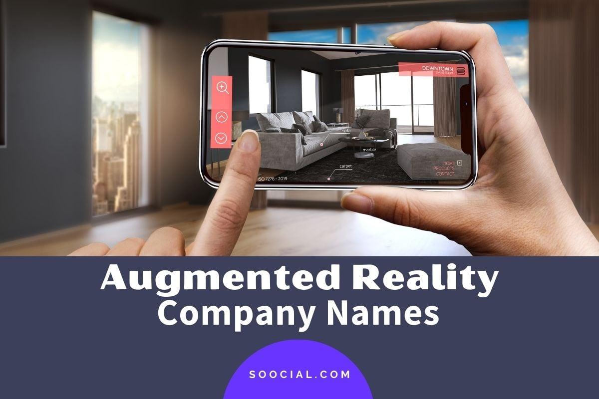 Augmented Reality Company Names