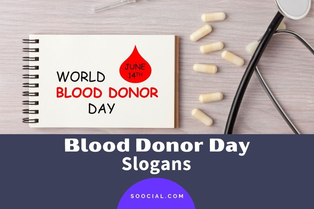 Blood Donor Day Slogans