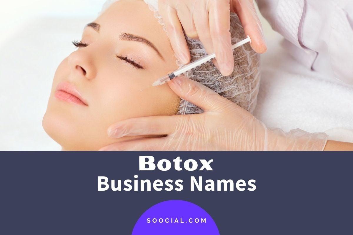Botox Business Names