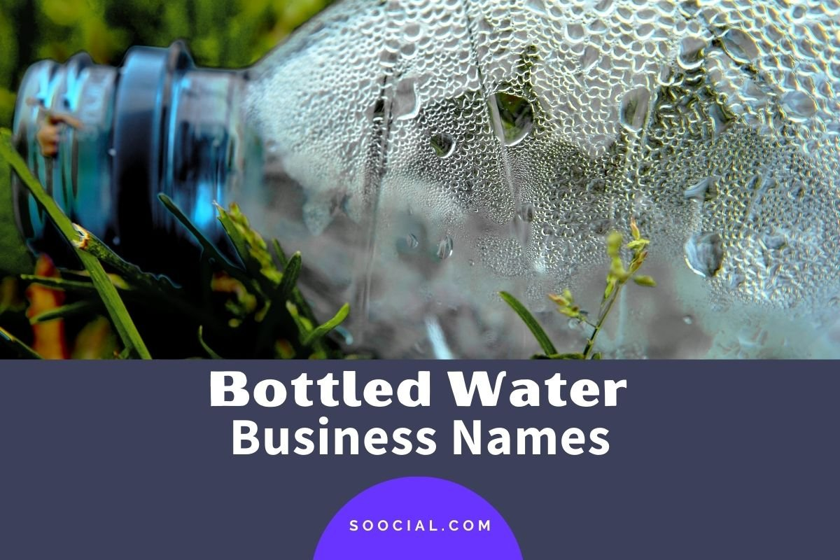 Bottled Water Business Names