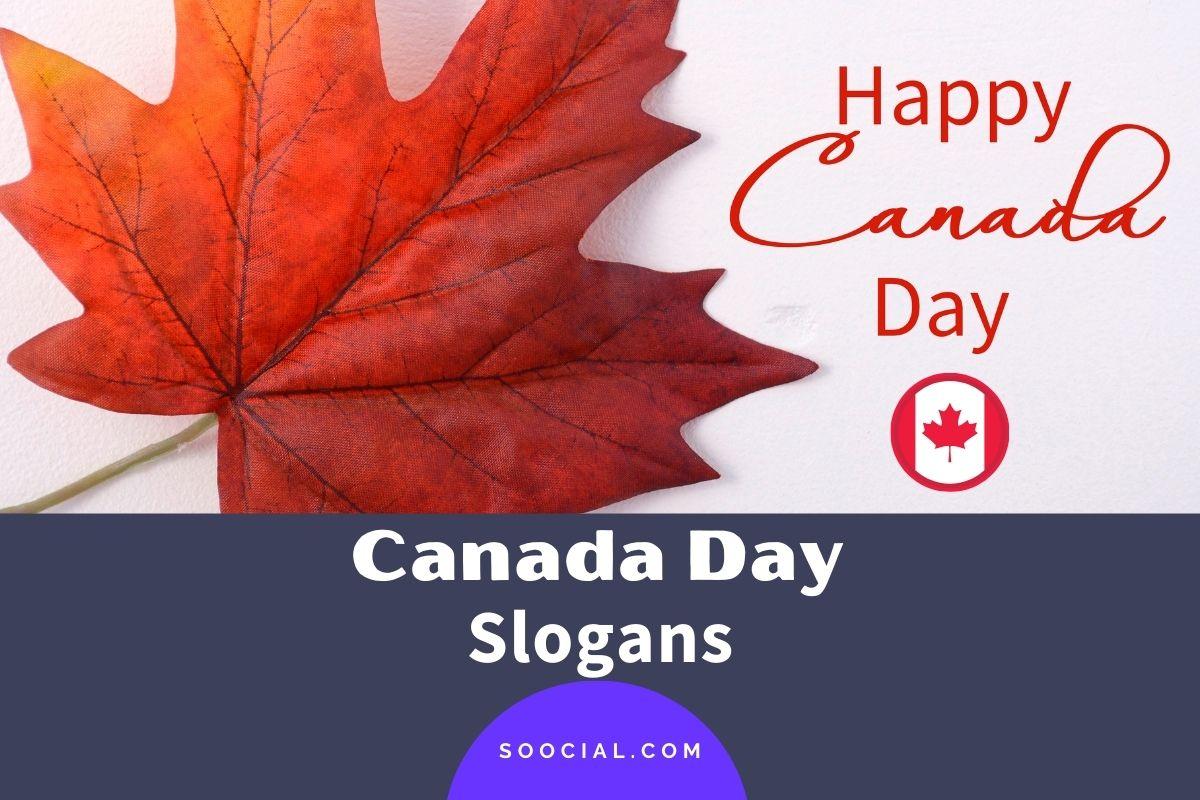 Canada Day Slogans