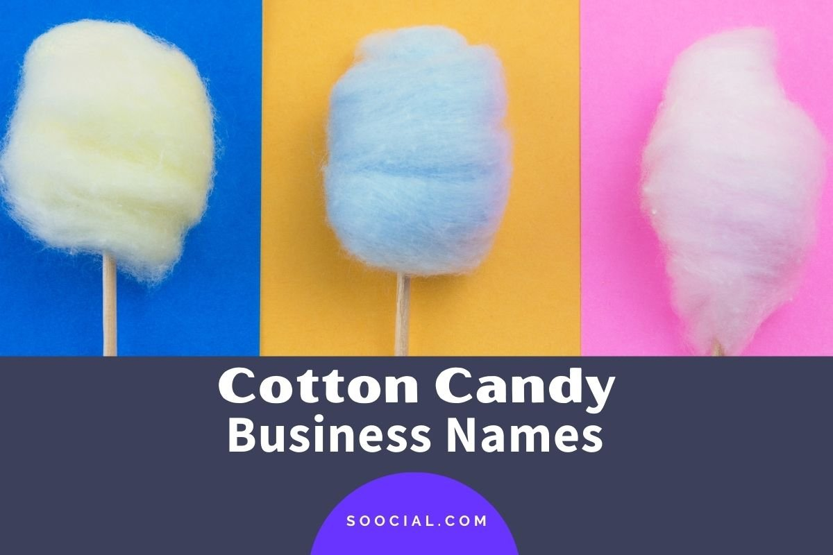 Cotton Candy Business Names