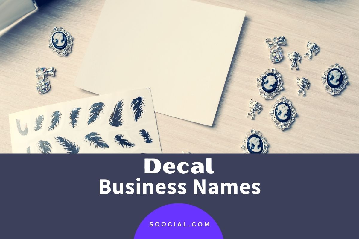 Decal Business Names
