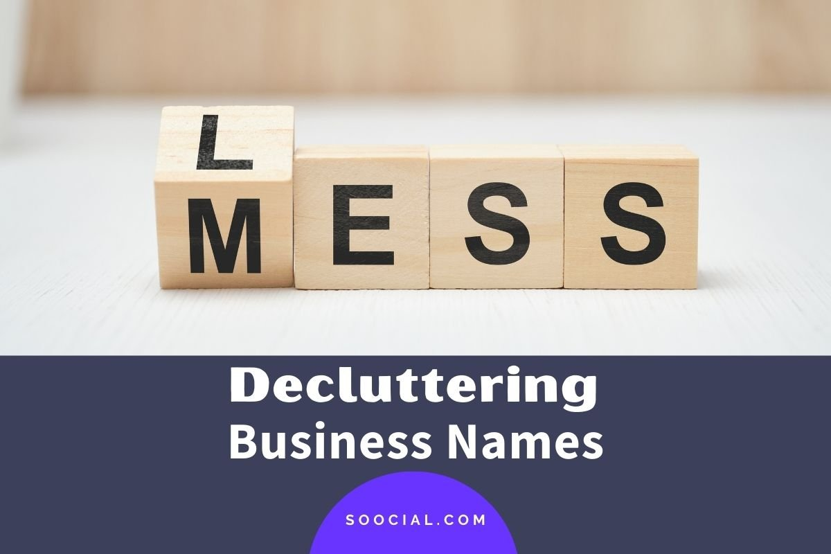 Decluttering Business Names