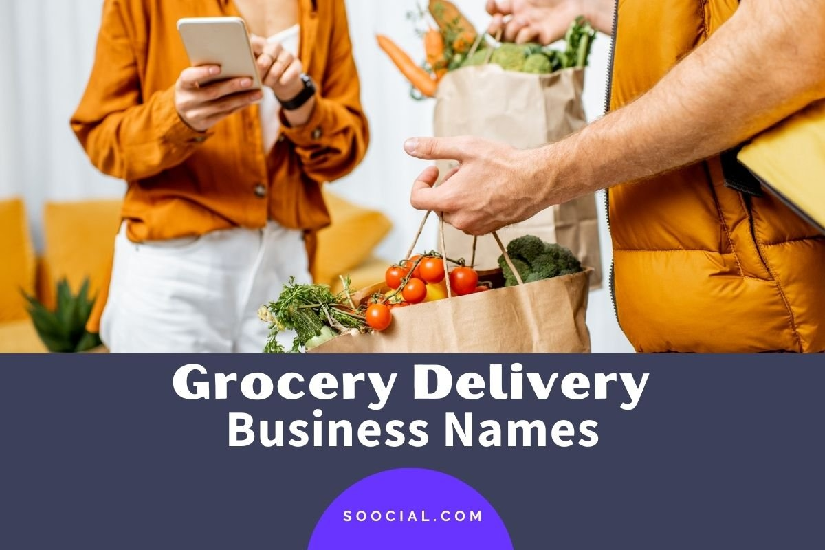 Grocery Delivery Business Names