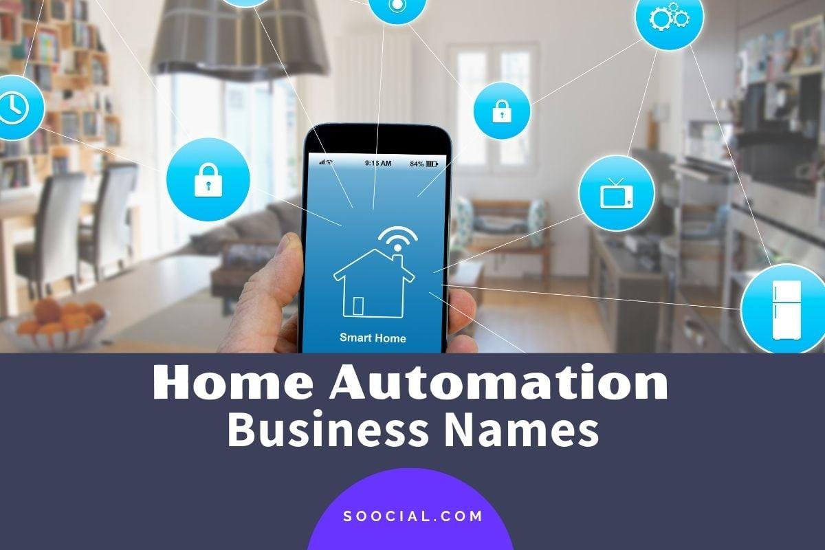 Smart Home Business Names
