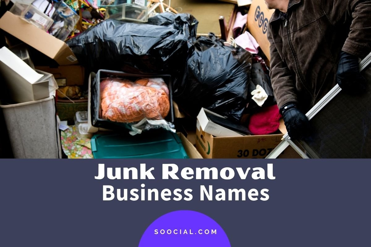 Junk Removal Business Names