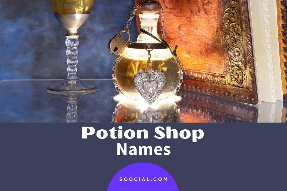 Potion Shop Names