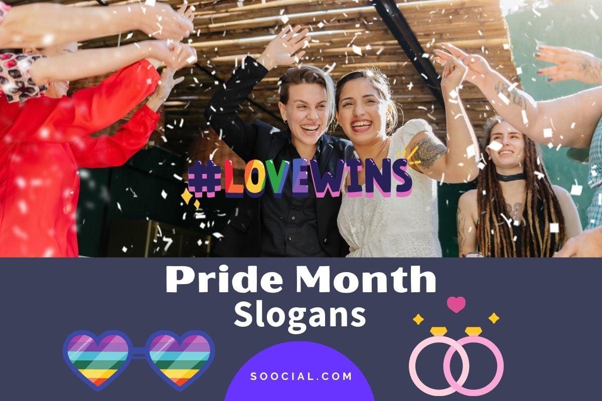 Pride Month Slogans