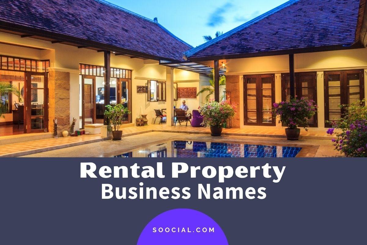 Rental Property Business Names