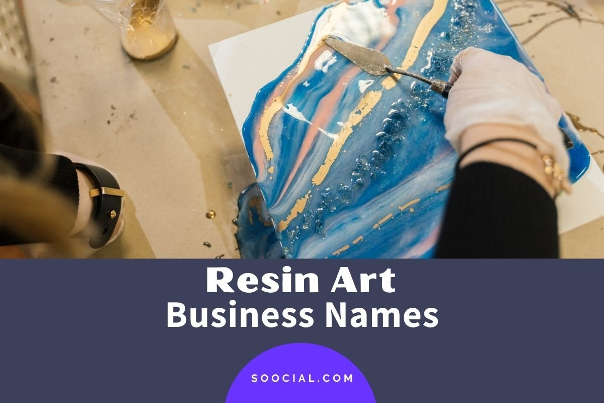 Resin Art Business Names