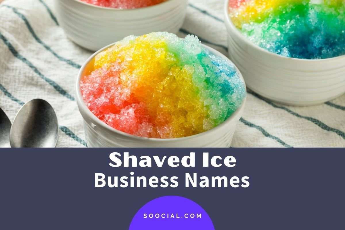 Shaved Ice Business Names