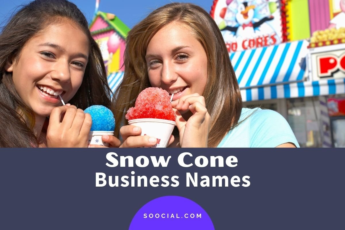 Snow Cone Business Names
