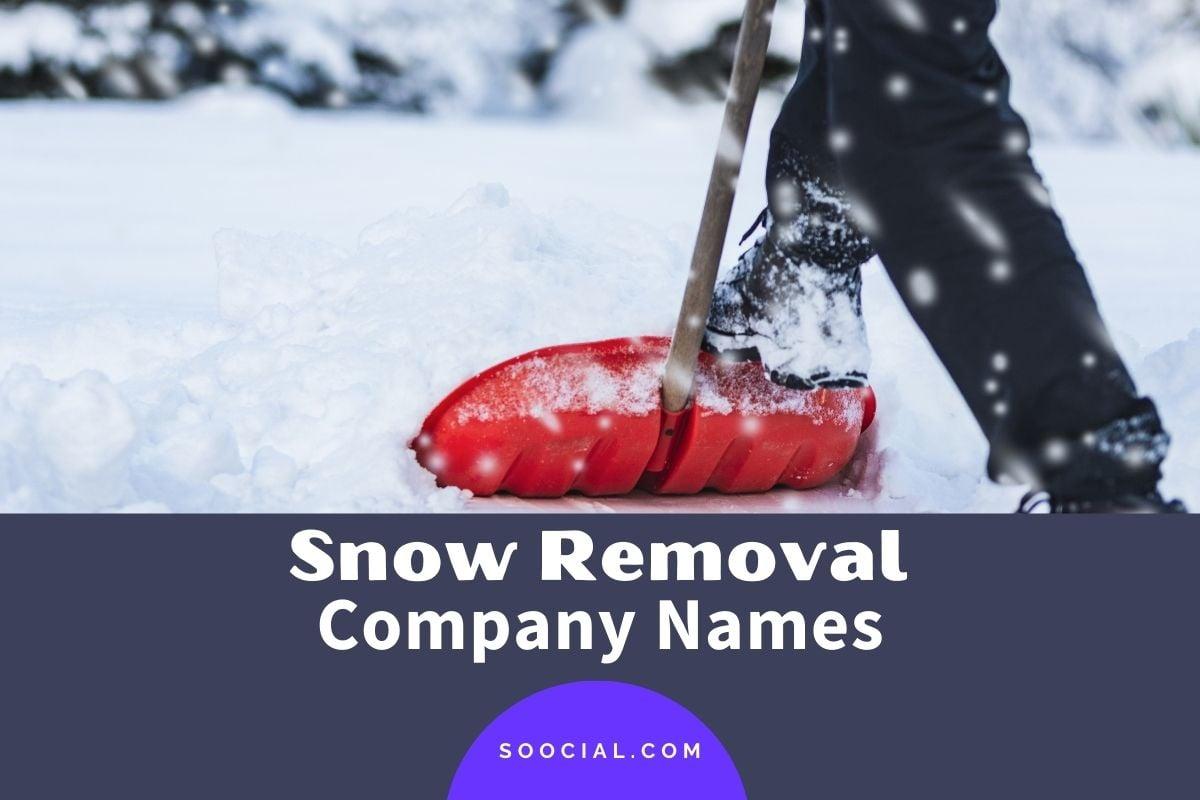 Snow Removal Company Names