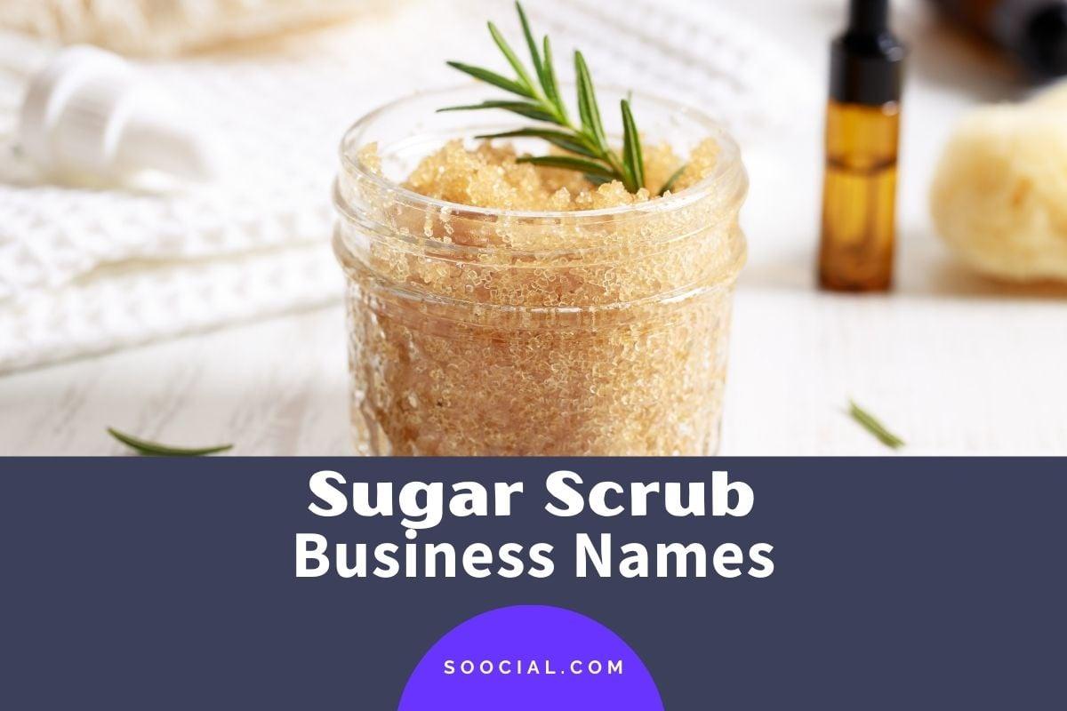 Sugar Scrub Business Names