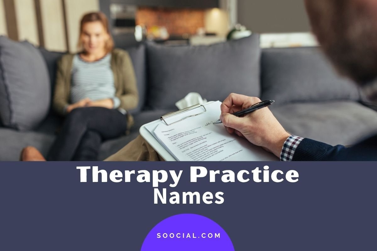 Therapy Practice Names