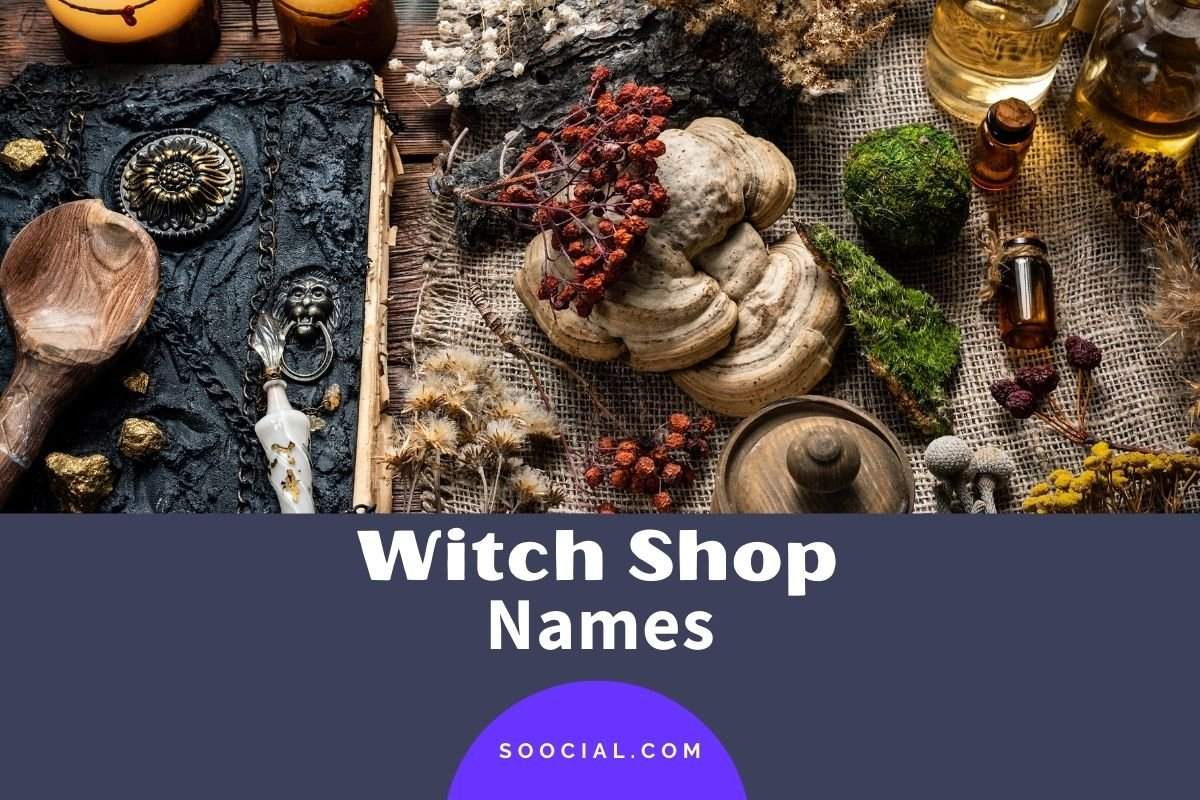 Witch Shop Names