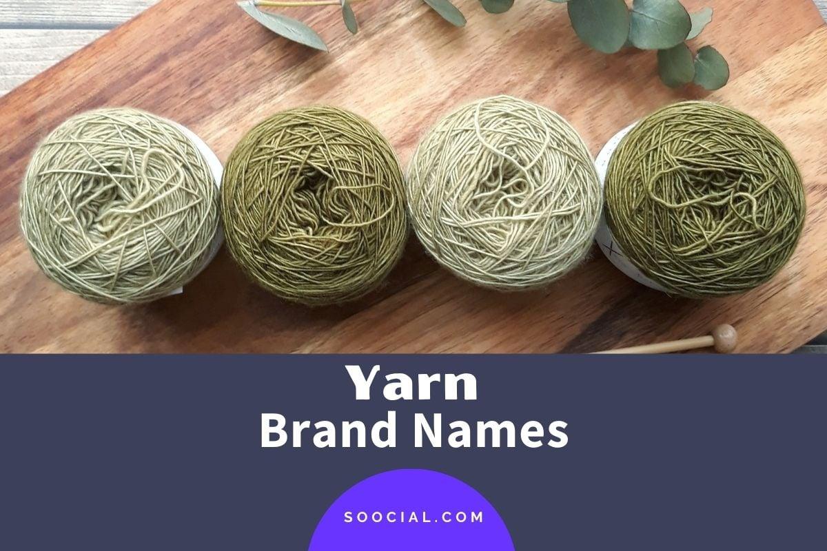 Yarn Brand Names