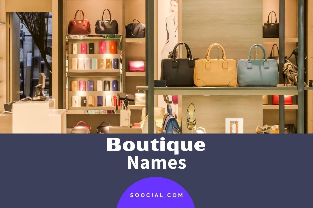 Boutique Names