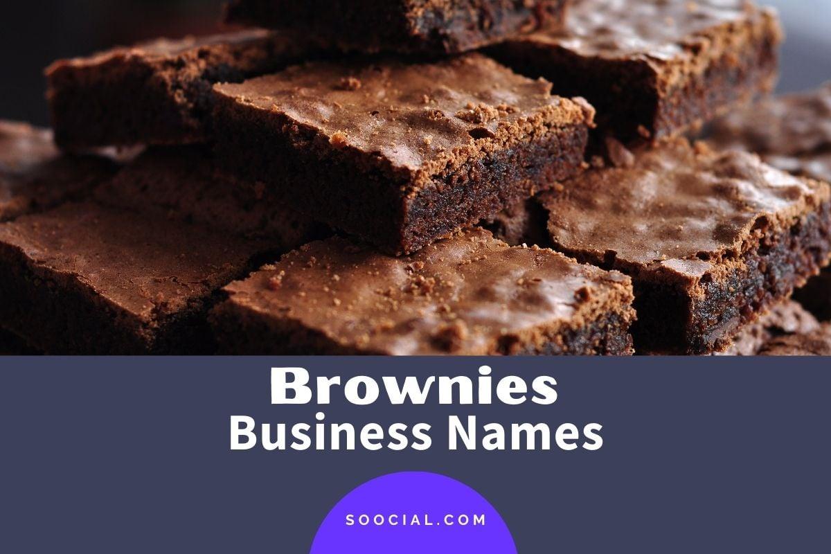 Brownie Business Names