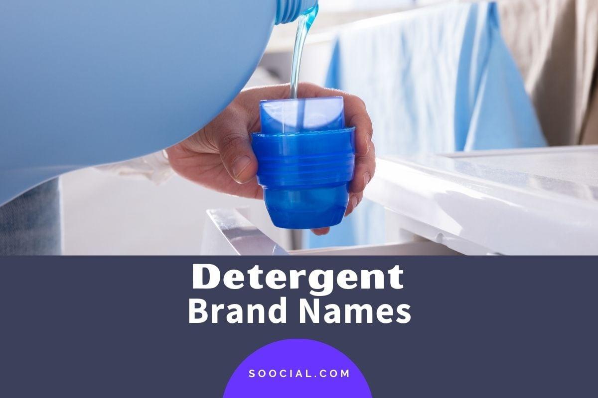 Detergent Brand Names