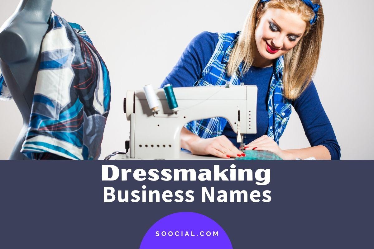Dressmaking Business Names
