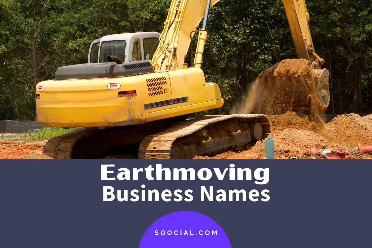 Earthmoving Company Names