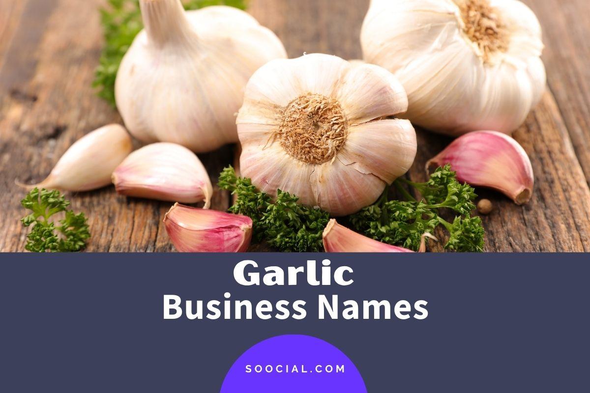 Garlic Business Names