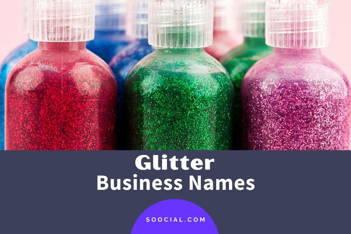 Glitter Business Names