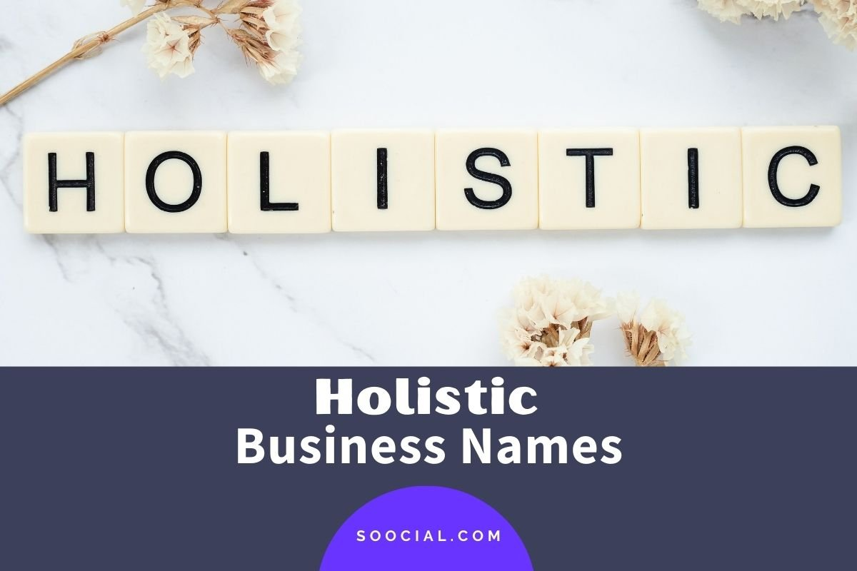 Holistic Business Names